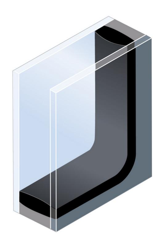 die verglasung. Black Bedroom Furniture Sets. Home Design Ideas